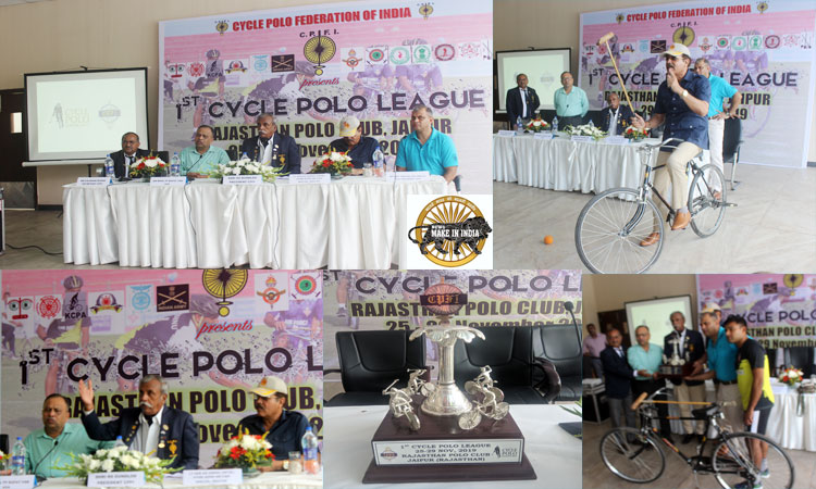 Cycle Polo Federation of India Launches First Ever Cycle Polo League (CPL)