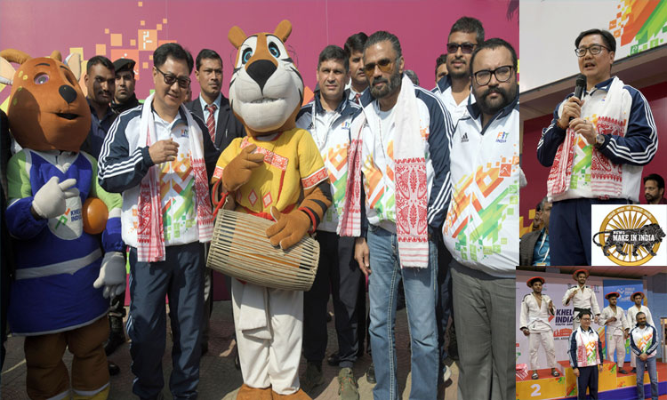 Sports minister Shri Kiren Rijiju & film star Suniel Shetty Call for Drug-Free Sports Culture