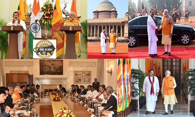 Press Statement by PM during the State Visit of PM of Sri Lanka to India
