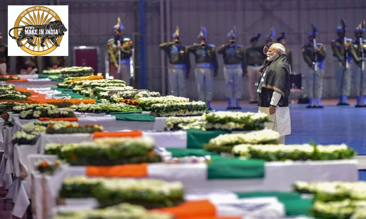 Prime Minister Pays Tributes Martyrs of Pulwama Attack