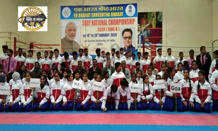 1200 Players Participate in Zonal Sports Championships