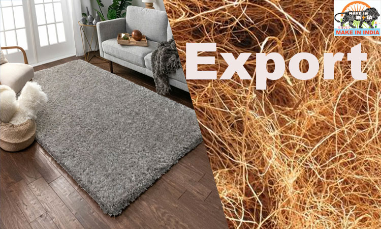 INDIA RECORDS ALL TIME HIGH EXPORT OF COIR AND COIR PRODUCTS