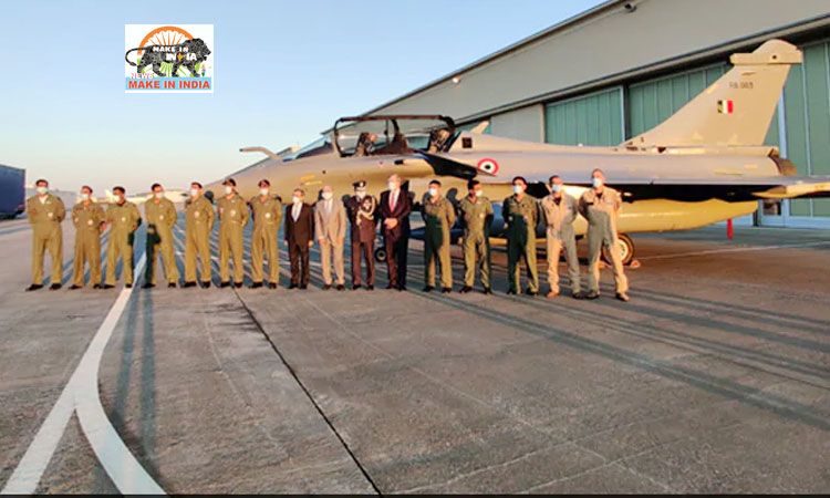 FERRY OF RAFALE from France to India