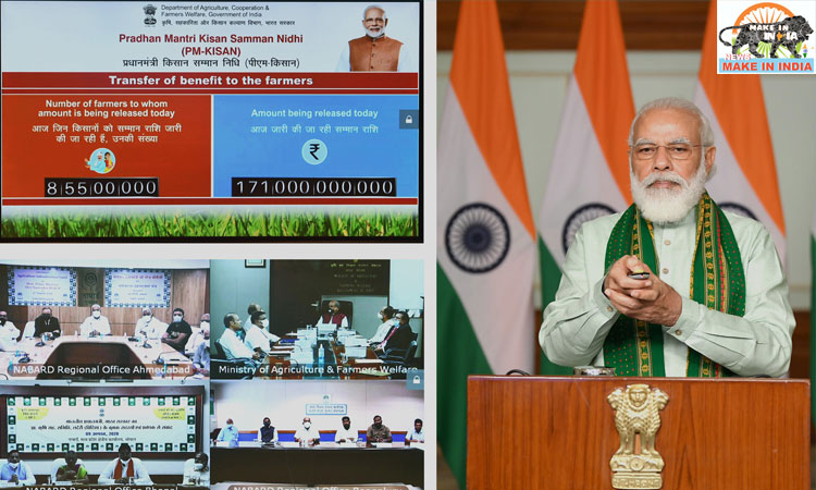 Modi launched financing facility under the Agriculture Infrastructure Fund