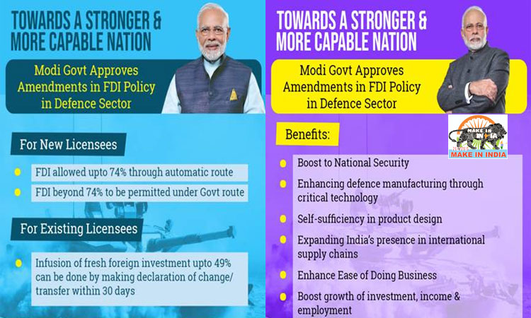Reviewing Foreign Direct Investment (FDI) Policy in Defence Sector
