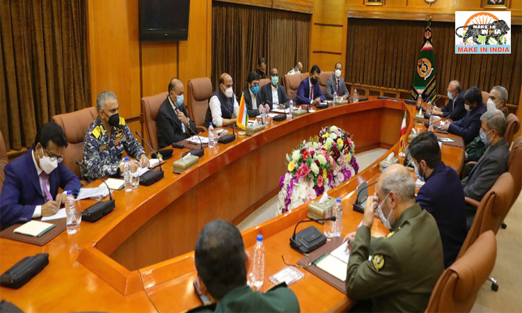 Rajnath Singh holds meeting with Iran's Minister of Defence in Tehran;