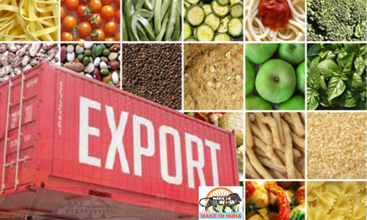 Export of agri commodities April-September 2020 increases by 43.4%
