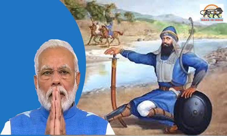 Modi pays tributes to Baba Banda Singh Bahadur on his 350th Jayanti