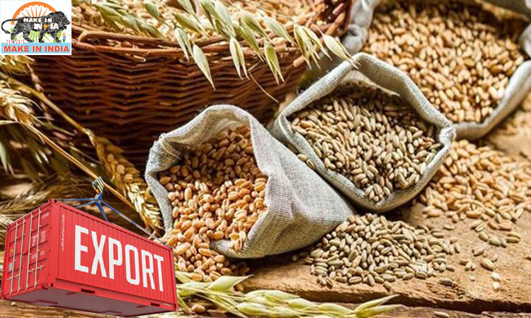 Cereals exports see a sharp jump in April – December 2020