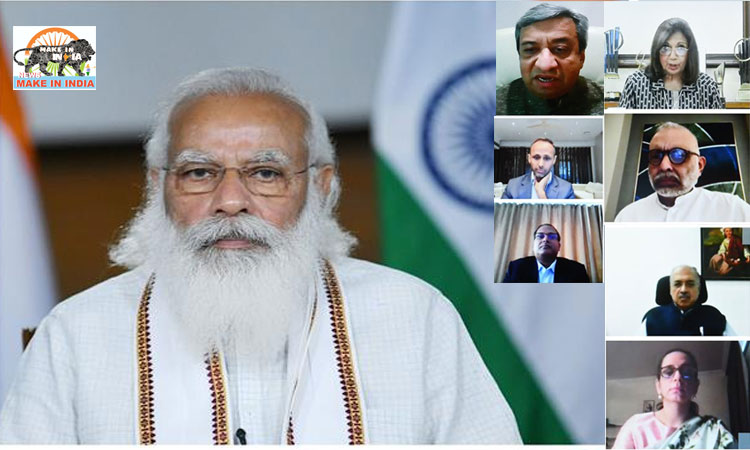 Modi interacts with leaders of pharma industry