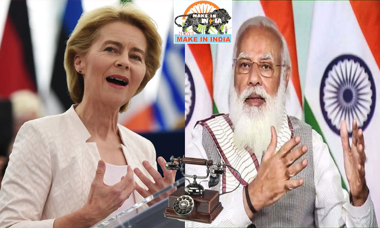 Phone call between Modi and President of the European Commission