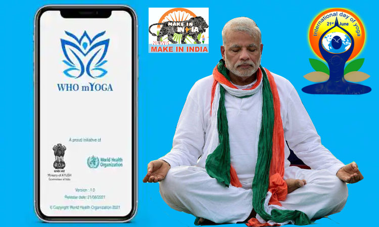 Prime Minister launches M-Yoga App on 7th International Day of Yoga 2021
